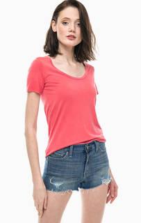 Однотонная футболка с глубоким вырезом Levis®