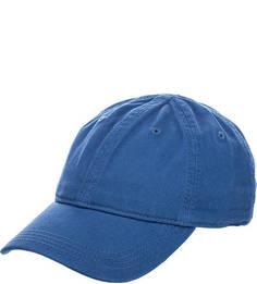 Синяя бейсболка из хлопка Lacoste