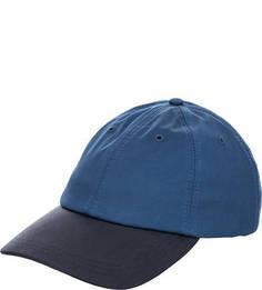 Хлопковая бейсболка синего цвета Lacoste