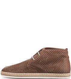 Кожаные ботинки с перфорацией Nobrand