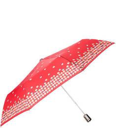 """Красный зонт с системой """"антиветер"""" Doppler"""