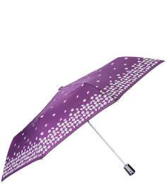 """Фиолетовый зонт с системой """"антиветер"""" Doppler"""