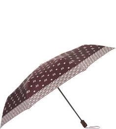 Бордовый складной зонт Doppler