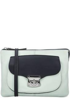 Кожаная сумка через плечо с двумя отделами Gianni Conti