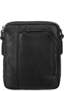 Маленькая кожаная сумка с карманами Gianni Conti