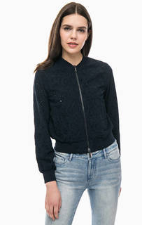 Легкая куртка с цветочной вышивкой Armani Exchange