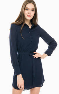 Короткое платье синего цвета Armani Exchange