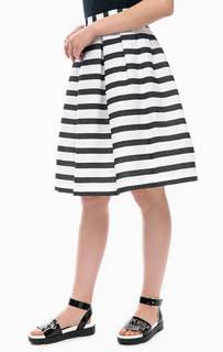 Пышная юбка в полоску Armani Exchange