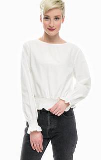 Базовая хлопковая блуза Only