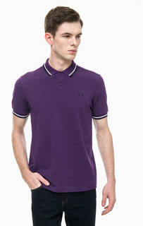 Футболка поло фиолетового цвета Fred Perry