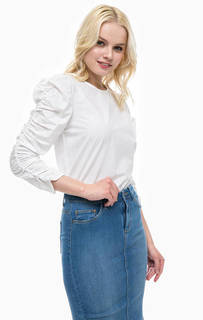 Белая блуза из хлопка Only