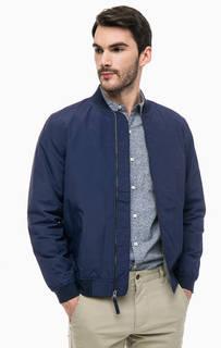 Утепленная куртка-бомбер на молнии прямого силуэта Dockers
