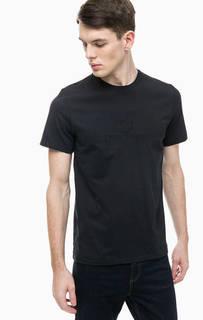 Хлопковая футболка с короткими рукавами Fred Perry