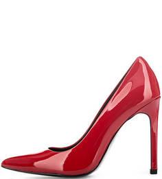 Красные лаковые туфли на шпильке Calvin Klein Jeans