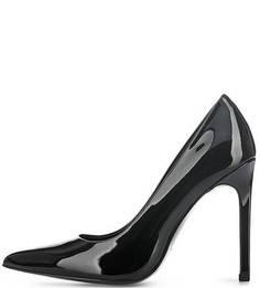 Черные лаковые туфли на шпильке Calvin Klein Jeans