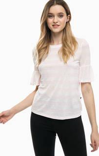 Полосатая футболка с короткими рукавами Noisy May