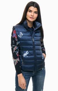 Легкая куртка со съемными рукавами Desigual