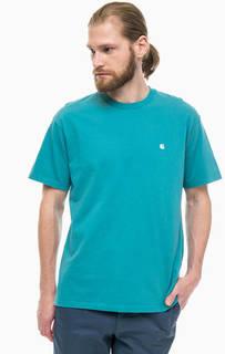 Однотонная футболка с круглым вырезом Carhartt WIP