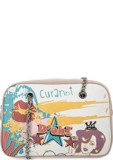 Кожаная сумка с длинными ручками Curanni