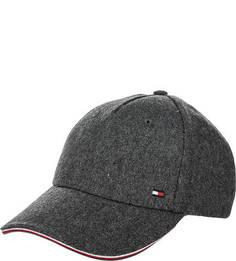 Бейсболка серого цвета Tommy Hilfiger