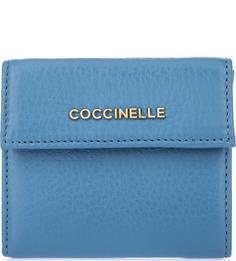 Маленький кожаный кошелек Coccinelle