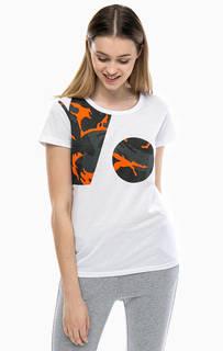 Хлопковая футболка с камуфляжным принтом G Star RAW