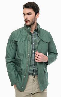 Хлопковая куртка со скрытым капюшоном Dockers