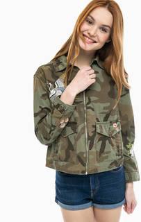 Хлопковая куртка Caroline Jacket с вышивкой Levis®