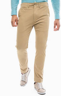 Хлопковые брюки чиносы бежевого цвета 502 True Chino Levis®