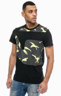 Хлопковая футболка с принтом G Star RAW