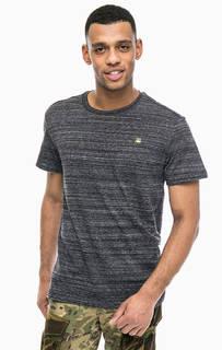 Серая футболка с круглым вырезом G Star RAW