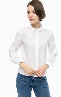 Белая хлопковая рубашка Only
