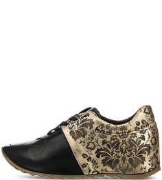 Кожаные кроссовки с вкладной стелькой Felmini