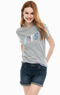 Серая футболка с принтом The Perfect Tee Levis®
