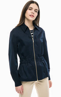 Легкая синяя куртка на молнии Tommy Hilfiger