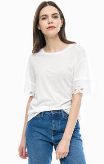Однотонная футболка с короткими рукавами Tommy Hilfiger