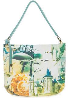 Кожаная сумка со съемным плечевым ремнем Curanni