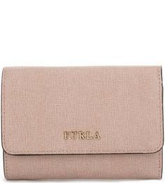 Кожаный кошелек с двумя отделами для купюр Furla