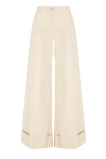 Хлопковые брюки Nina Ricci