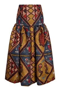 Пышная юбка с принтом Stella Jean