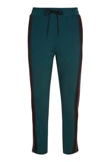 Зеленые брюки с двойными лампасами Daily Paper