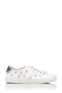 Кеды с заклепками Cosmic Stars Sneaker Aquazzura