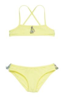 Раздельный купальник лимонного цвета Bonpoint
