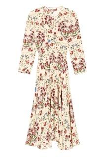 Платье с цветочным принтом Maje