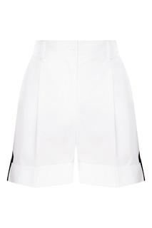 Белые шорты с лампасами P.A.R.O.S.H.