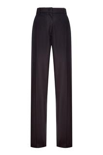 Черные хлопковые брюки-чинос No.21
