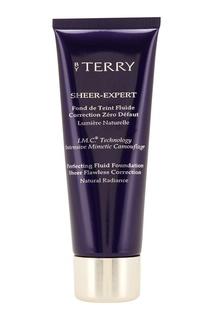 Тональный флюид с легким покрытием Sheer Expert 4 Rosy Beige, 35ml By Terry