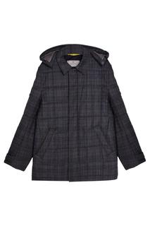 Шерстяная куртка в клетку Canali