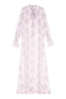 Шифоновое платье с цветочным принтом A LA Russe
