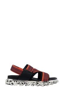 Красные сандалии Aqua Sandal Mens United Nude